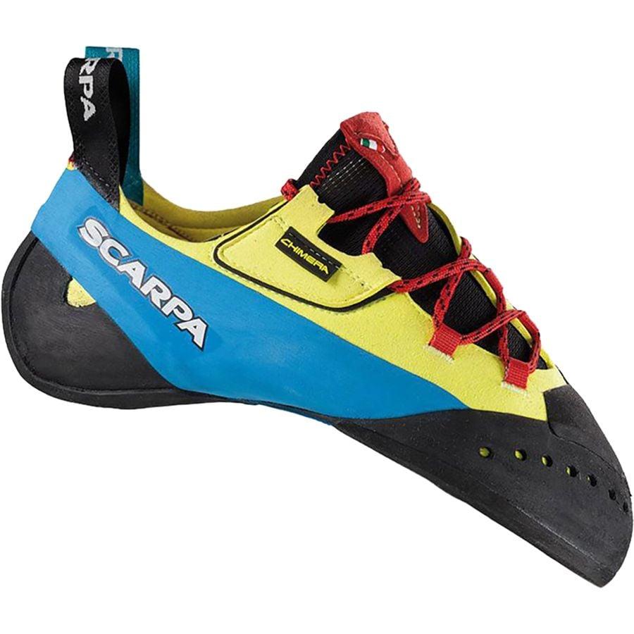 d2e13852d87345 Scarpa - Chimera Climbing Shoe - Yellow