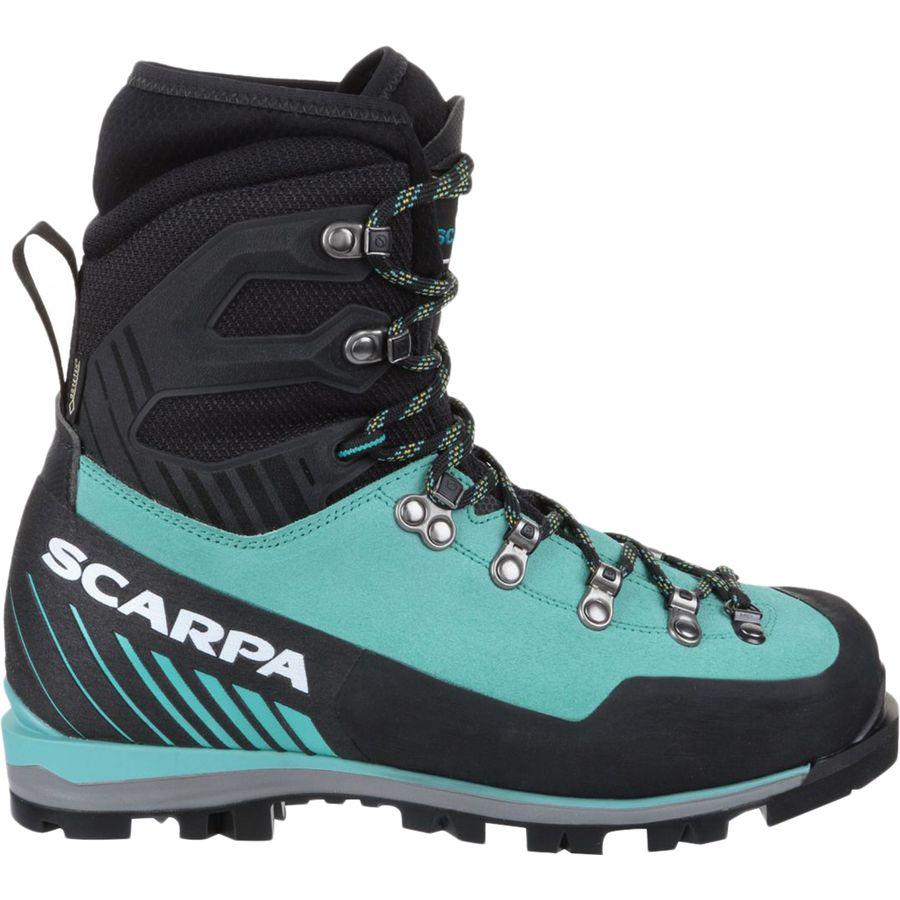 Scarpa - Mont Blanc Pro GTX Mountaineering Boot - Women's - Green Blue
