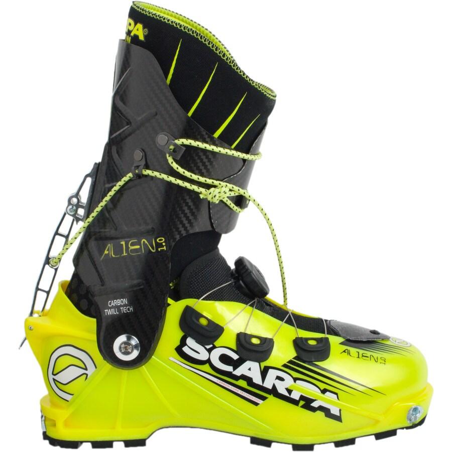 Scarpa Alien 1 0 Alpine Touring Boot Backcountry Com
