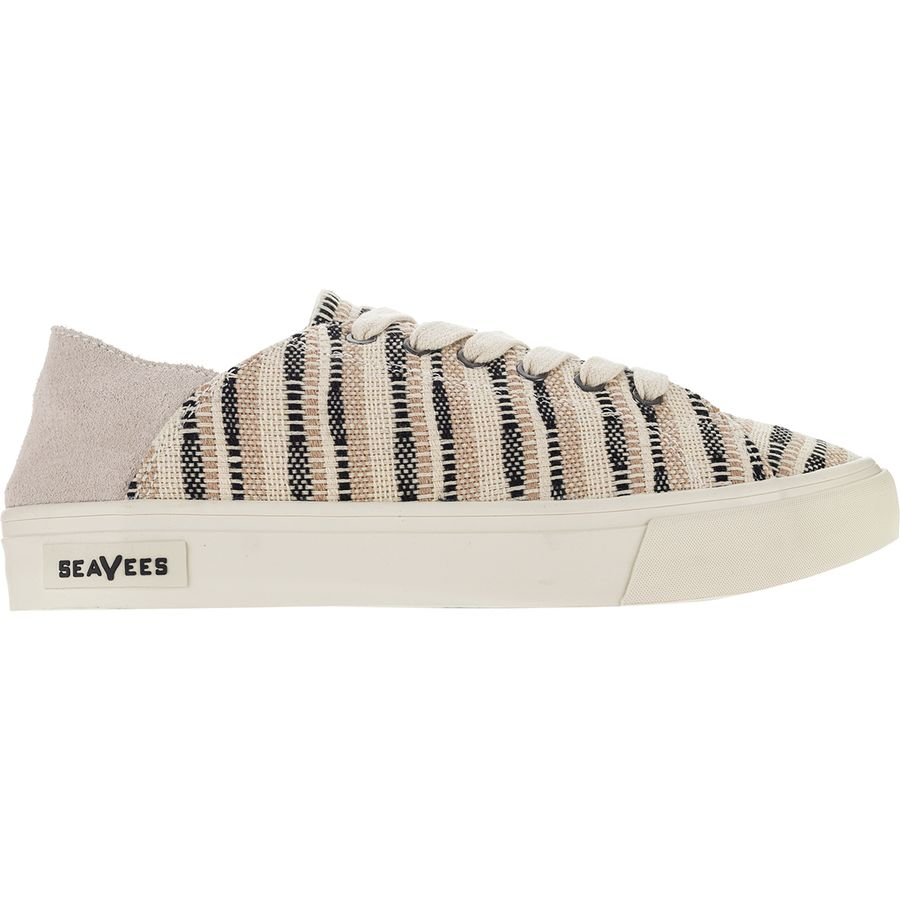 938eed331572 SeaVees - Sausalito Sneaker - Women s - Natural Woven Embroidered