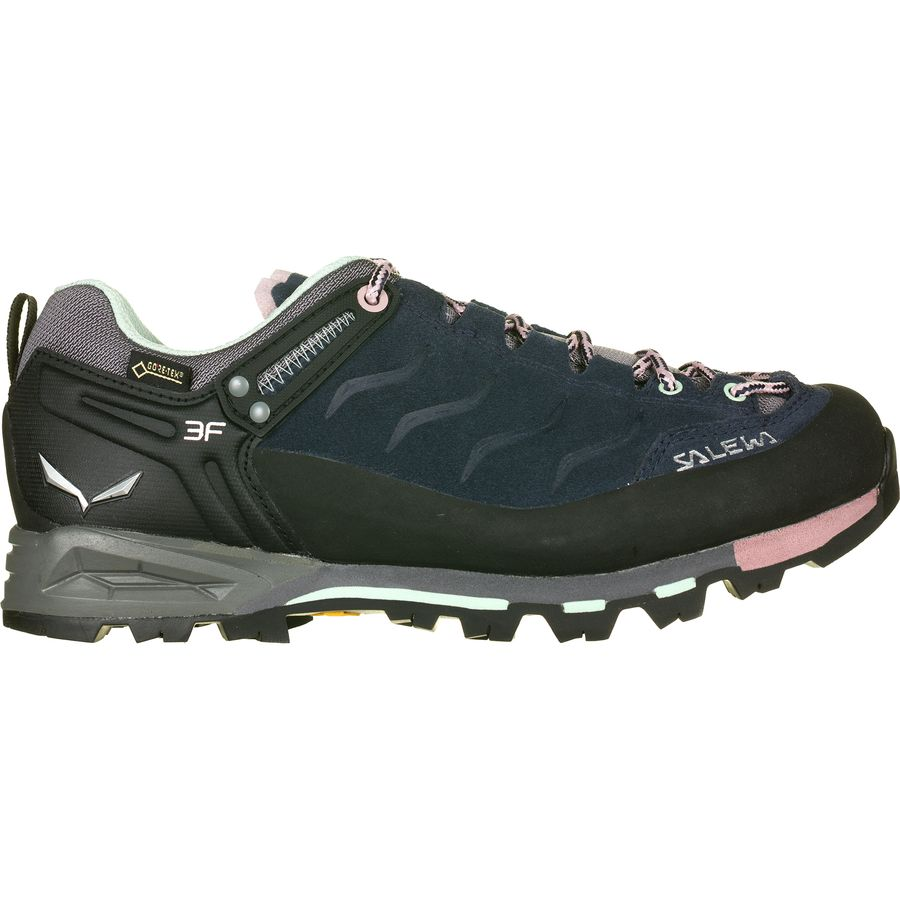 Salewa MTN Trainer Shoes Women Premium Navy/Subtle Green UK 4,5