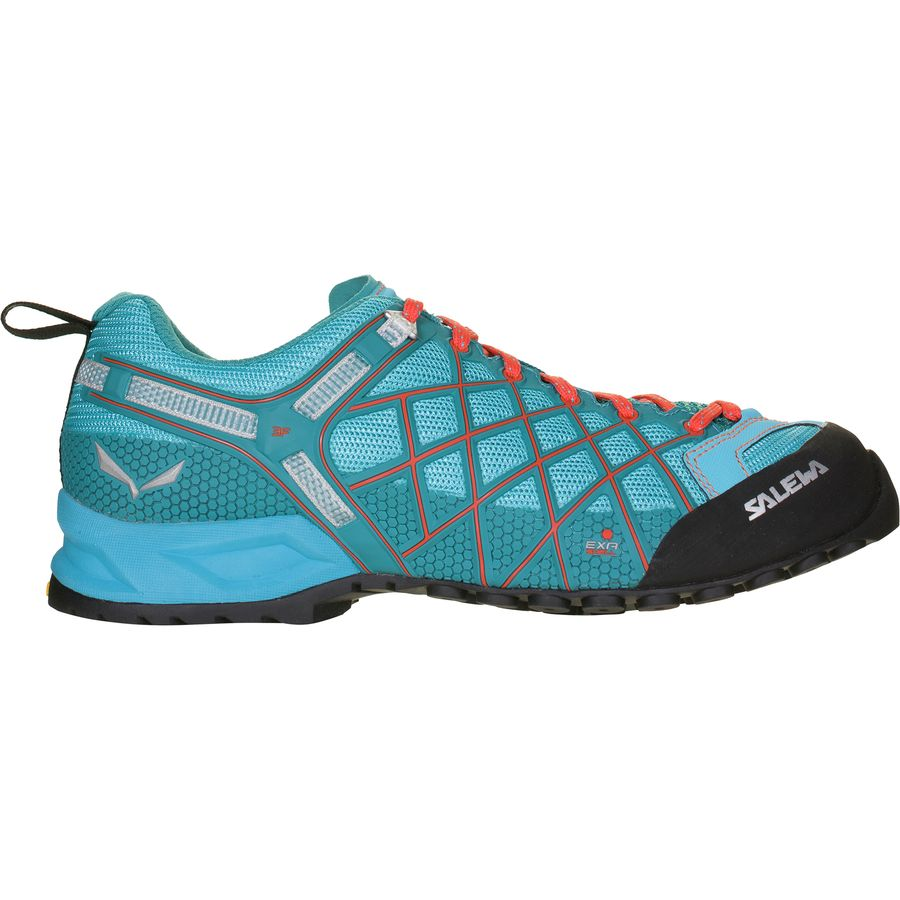 Salewa - Wildfire Vent Hiking Shoe - Women's - River Blue/Clementine