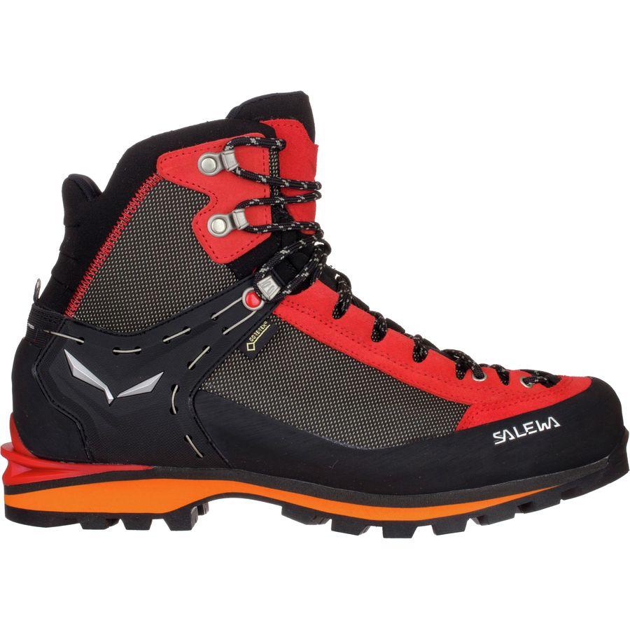 Salewa Crow Gtx Walking Boots Black/Papavero G10s4450 Trekking Boots for men The Latest Classi