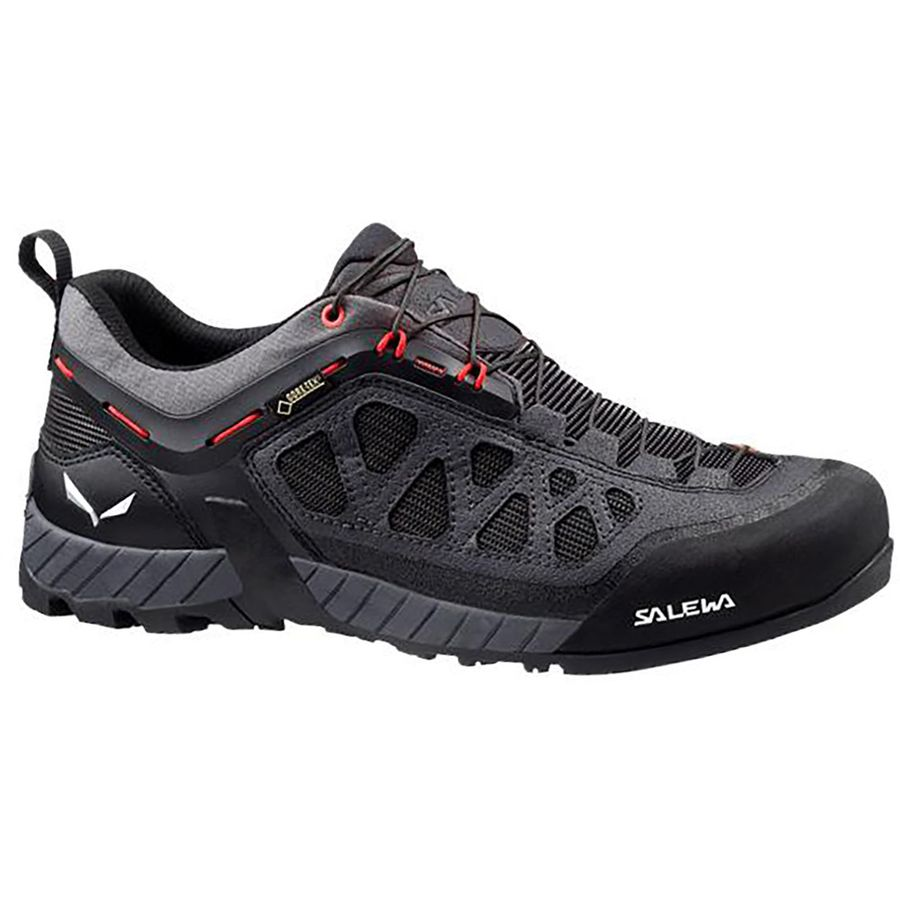 Salewa - Firetail 3 GTX Approach Shoe - Men s - Black Out Papavero 8070fad9d96