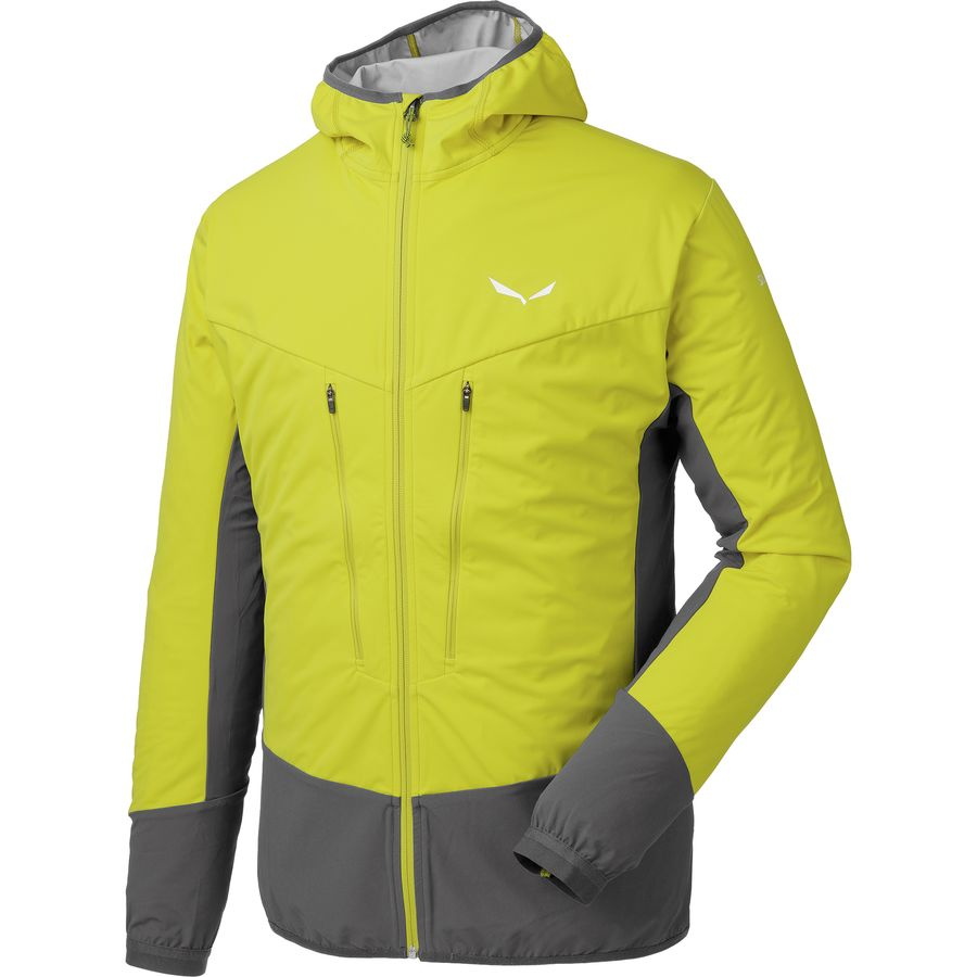 Salewa Pedroc Hybrid Hooded Softshell Jacket - Mens