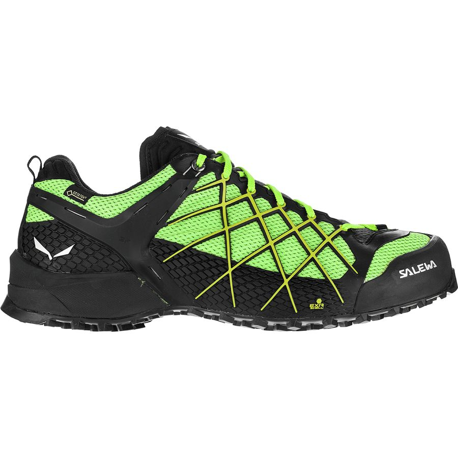 75ad0924a9cc Salewa - Wildfire GTX Hiking Shoe - Men s - Black Out Fluo Yellow