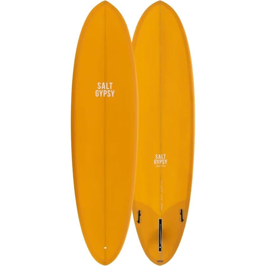 Salt Gypsy - Mid Tide Surfboard - Mustard