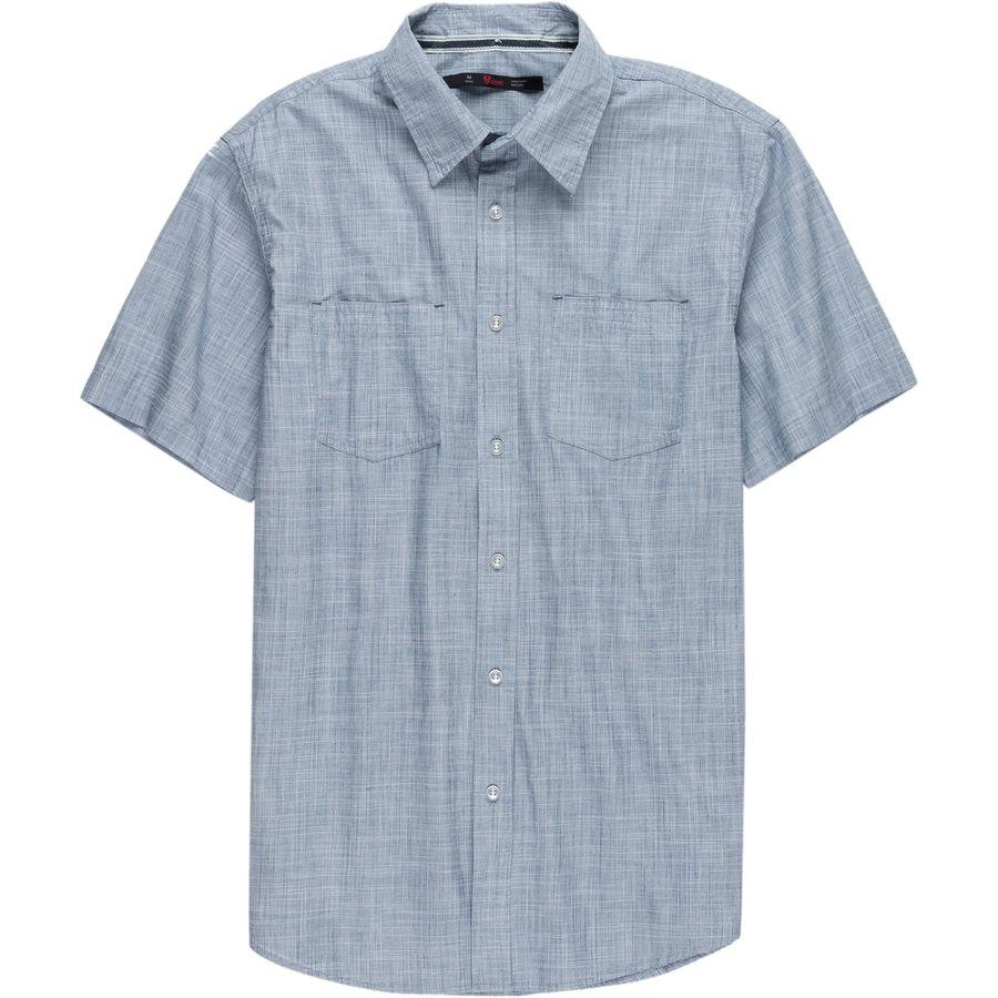 Stoic Crosshatch Chambray Shirt - Mens