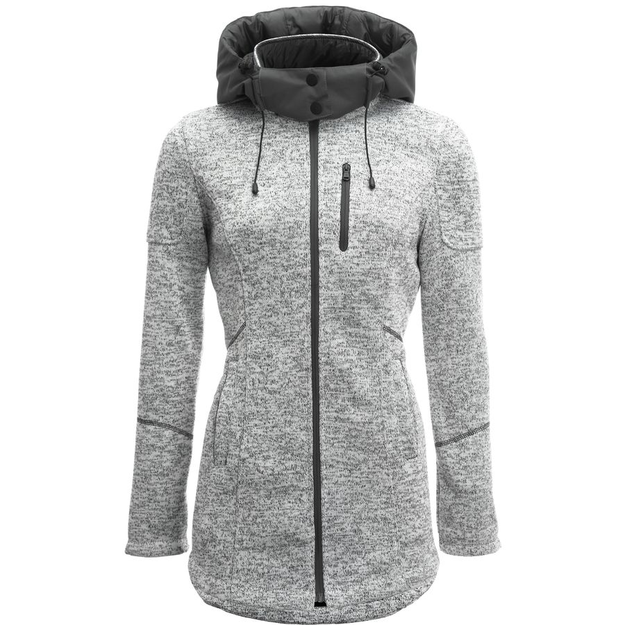 Stoic Long Sweater Fleece Jacket - Women's - Up to 70% Off | Steep ...
