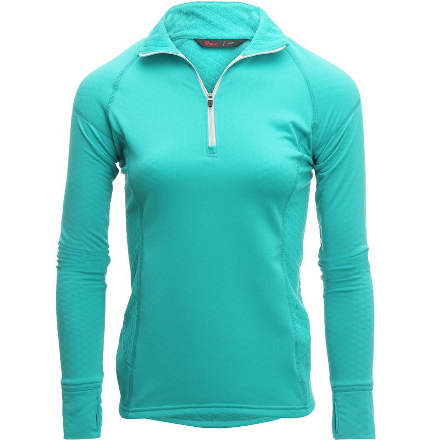 Stoic Fleece 1/4-Zip Contrast Pullover - Womens