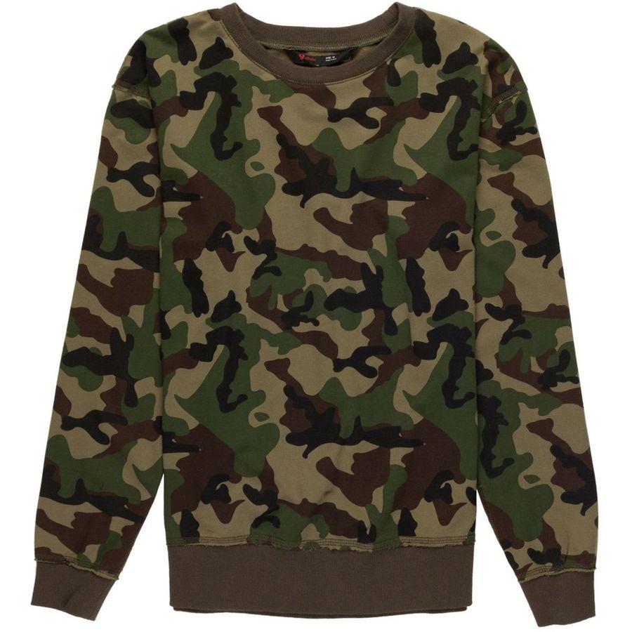 Stoic Camo Pullover Sweatshirt - Mens