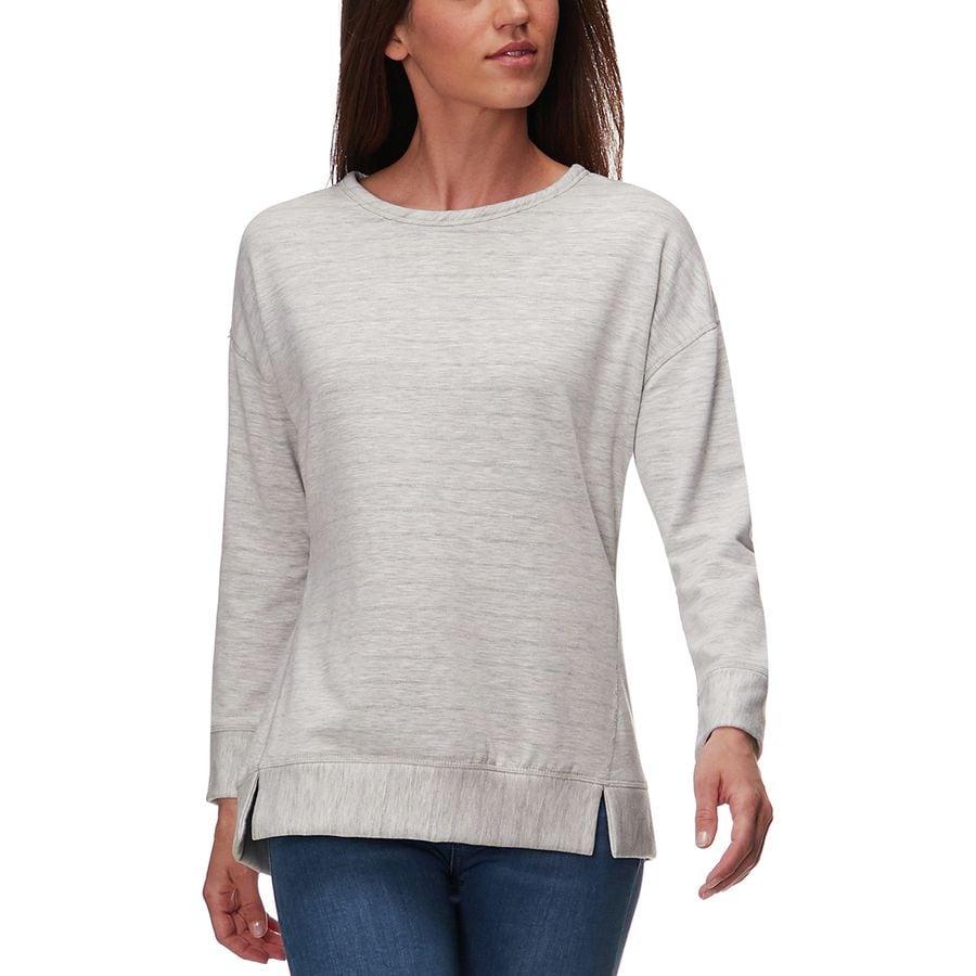 Stoic Shadow Stripe Reversible Sweatshirt - Womens