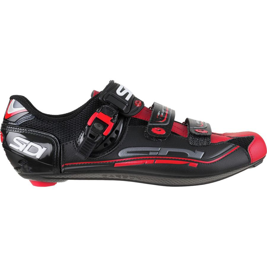 3ac599d318e2c Sidi - Genius 7 Carbon Cycling Shoe - Men s - Black Red