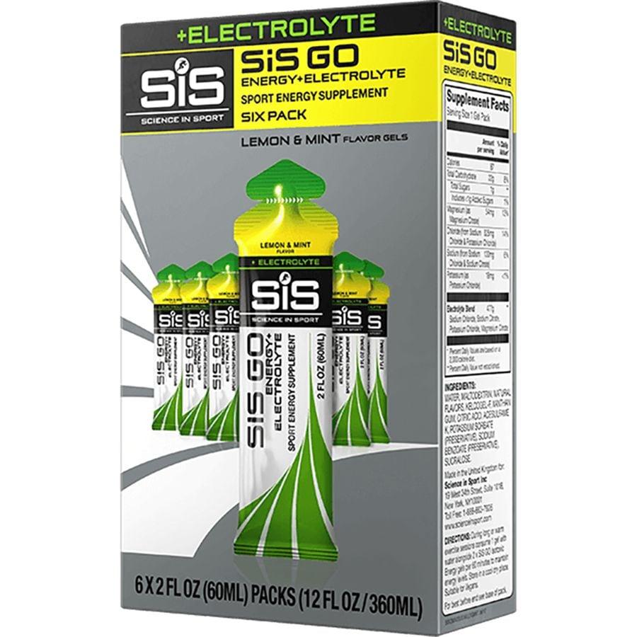 Science in Sport GO Energy Plus Electrolyte Gels