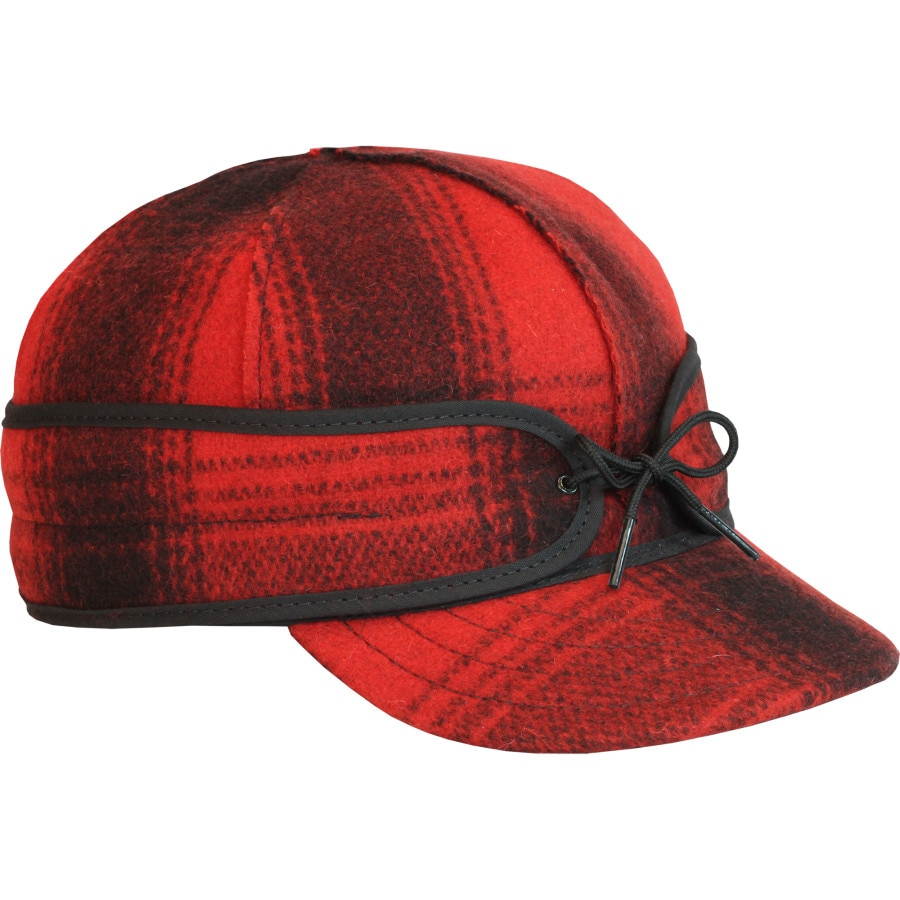 Stormy Kromer Mercantile - Original Cap - Red2 Black Plaid 3571b1db2f4