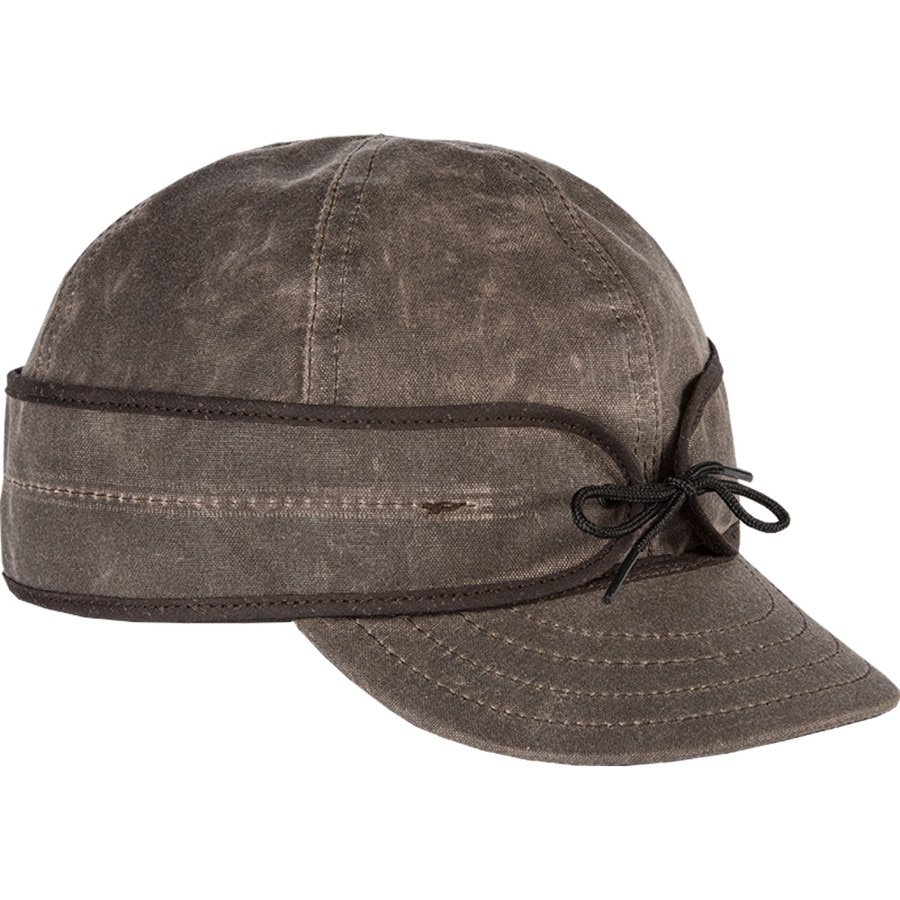 Stormy Kromer Mercantile - Waxed Cotton Cap - Men s - Dark Oak 2b05c5fbea0e