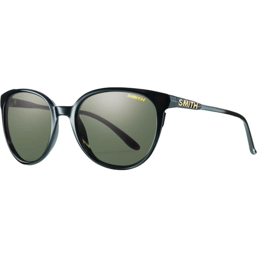 Smith - Cheetah Polarized Sunglasses - Women s - Black Polar Gray Green 73efde20e