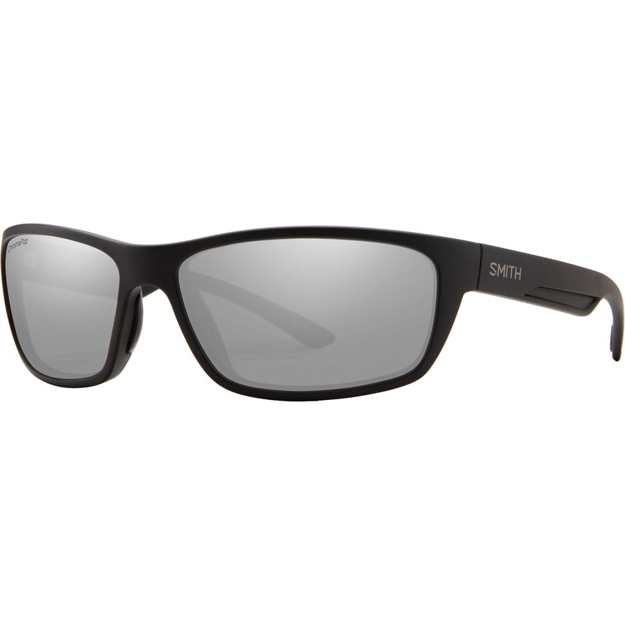 68845c28ef8 Smith - Ridgewell ChromaPop Polarized Sunglasses - Matte Black Polarized  Platinum