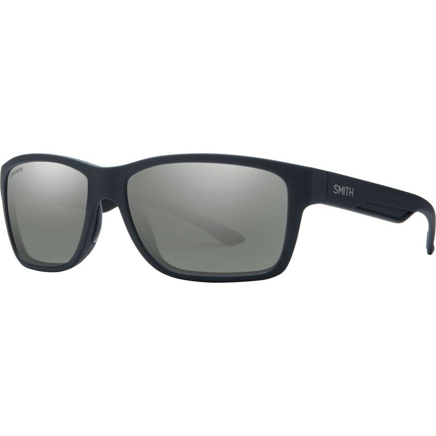 9b0cf478ed4 Smith - Wolcott ChromaPop+ Polarized Sunglasses - Matte Black Polarized  Platinum