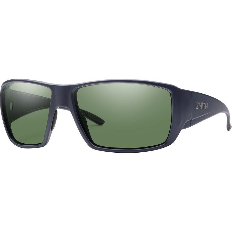 09dae8d6ca Smith - Guide s Choice ChromaPop Polarized Sunglasses - Men s - Matte Deep  Ink Polarized Gray