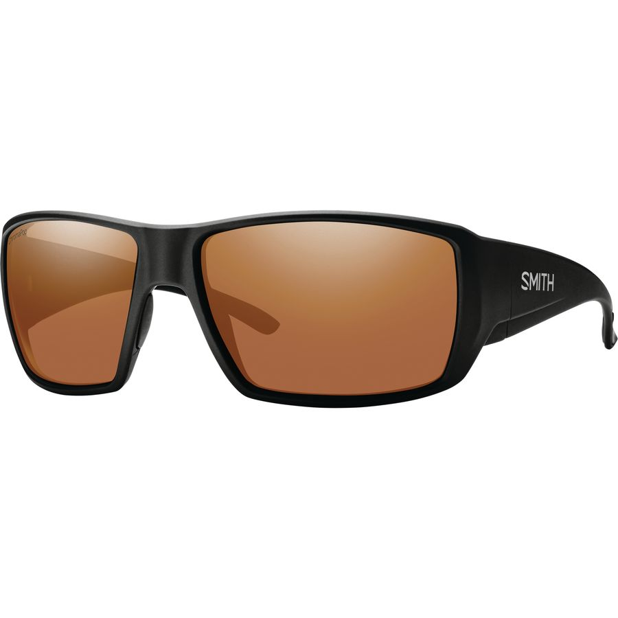 7d31d879a0 Smith - Guide s Choice ChromaPop Polarized Sunglasses - Men s - Matte  Black Copper