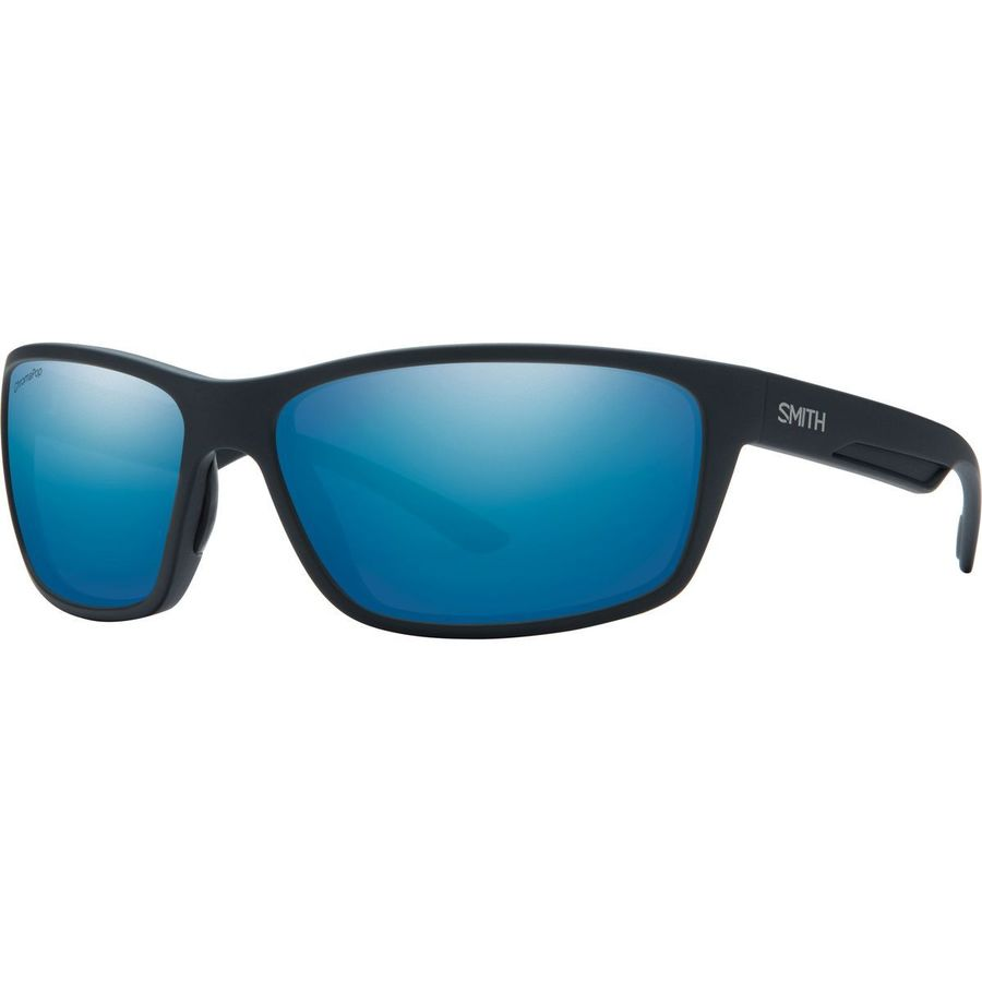 7eb4c9e32fa Smith - Redmond ChromaPop+ Polarized Sunglasses - Matte Black Polarized  Blue Mirror