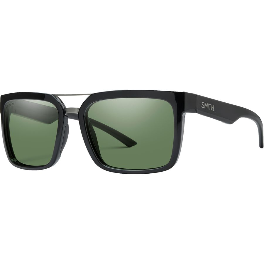 51d5ddc4148 Smith - Highwire ChromaPop Polarized Sunglasses - Men s - Black Polarized  Gray Green