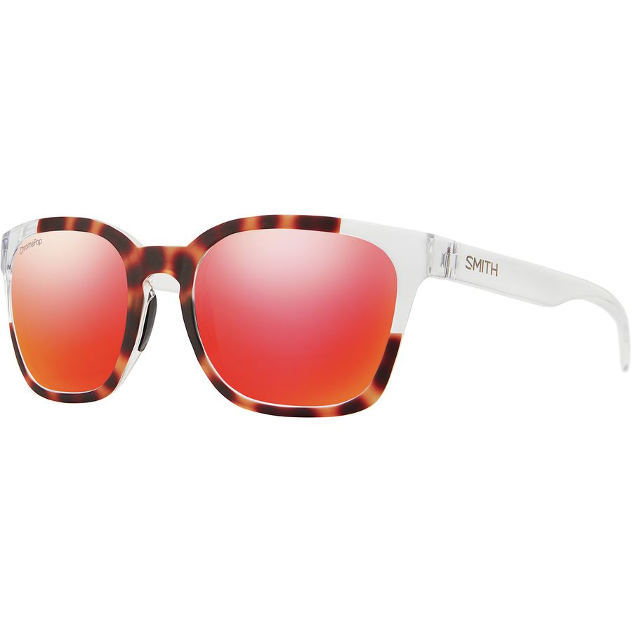 3eae653501e Smith - Founder ChromaPop Sunglasses - Matte Tortoise Crystal Block Sun Red  Mirror