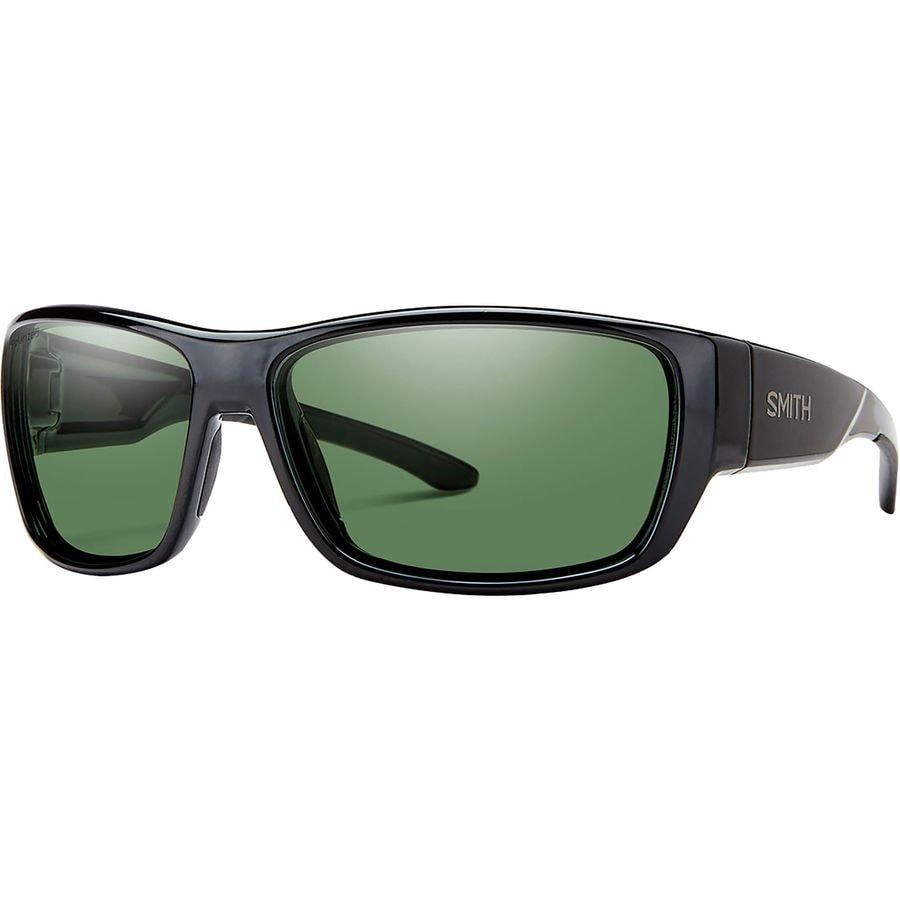1ae5edd9da Smith - Forge Polarized Sunglasses - Men s - Black Polarized Gray Green