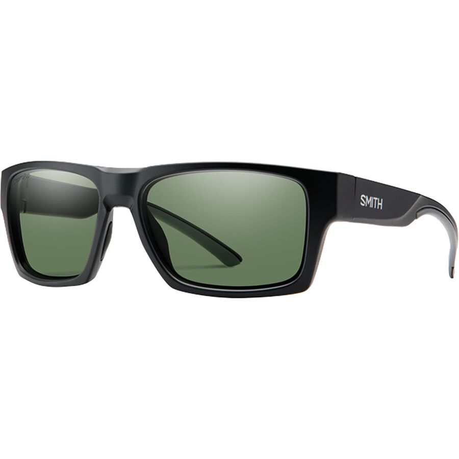 975a2a8f3c Smith - Outlier 2 Chromapop Polarized Sunglasses - Matte Black Polarized  Gray Green