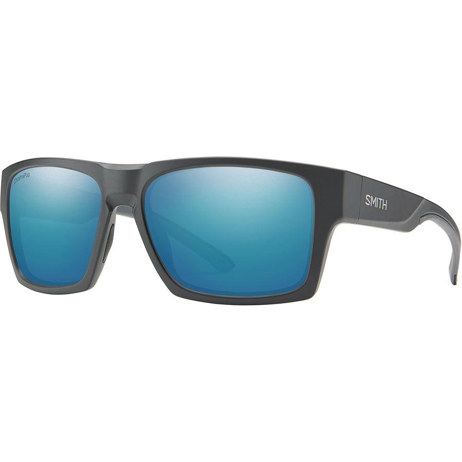 27f90192f4 Smith - Outlier 2 XL Chromapop Polarized Sunglasses - Matte  Charcoal Polarized Blue