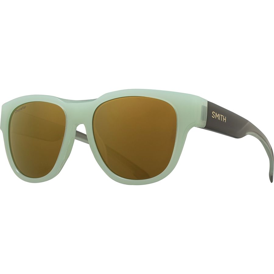 7502af93a93 Smith - Rounder ChromaPop Polarized Sunglasses - Ice Smoke Polarized Bronze  Mirror