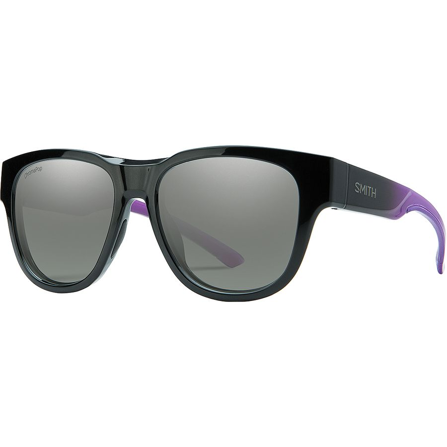 cf3ae93623 Smith - Rounder ChromaPop Sunglasses - Violet Spray Sun Black