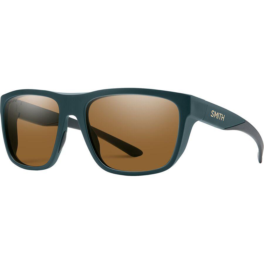 1ba9d3e7a8b5f Smith - Barra ChromaPop Polarized Sunglasses - Matte Forest Polarized Brown