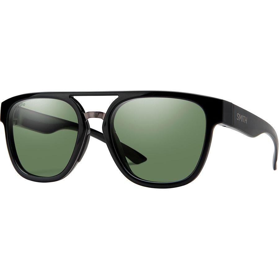 85034d4070079 Smith - Agency Chromapop Polarized Sunglasses - Black Frame Gray Green