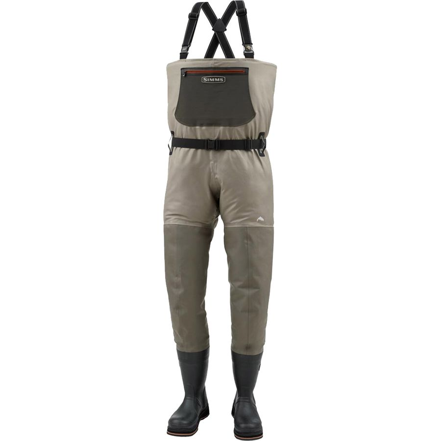 Simms g3 guide bootfoot waders felt men 39 s for Surf fishing waders