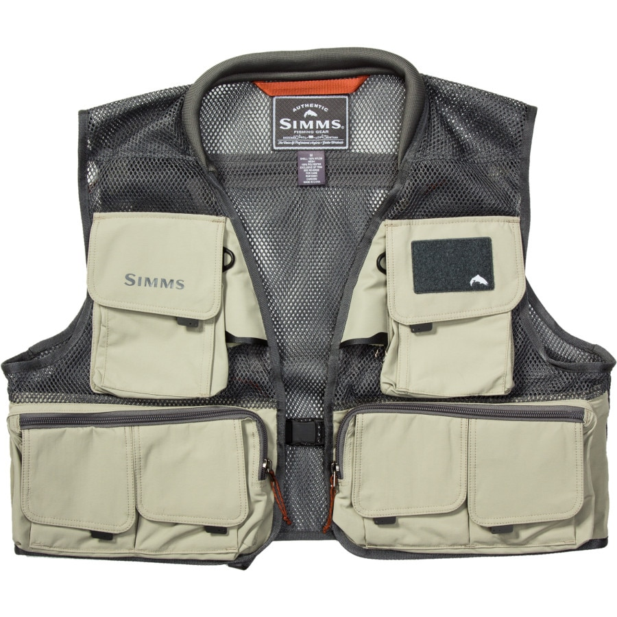 Simms headwaters mesh vest for Toddler fishing vest