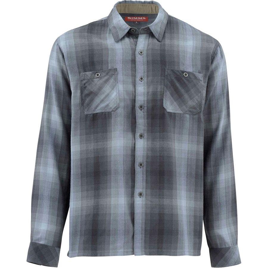 Simms Blacks Ford Flannel Shirt - Mens