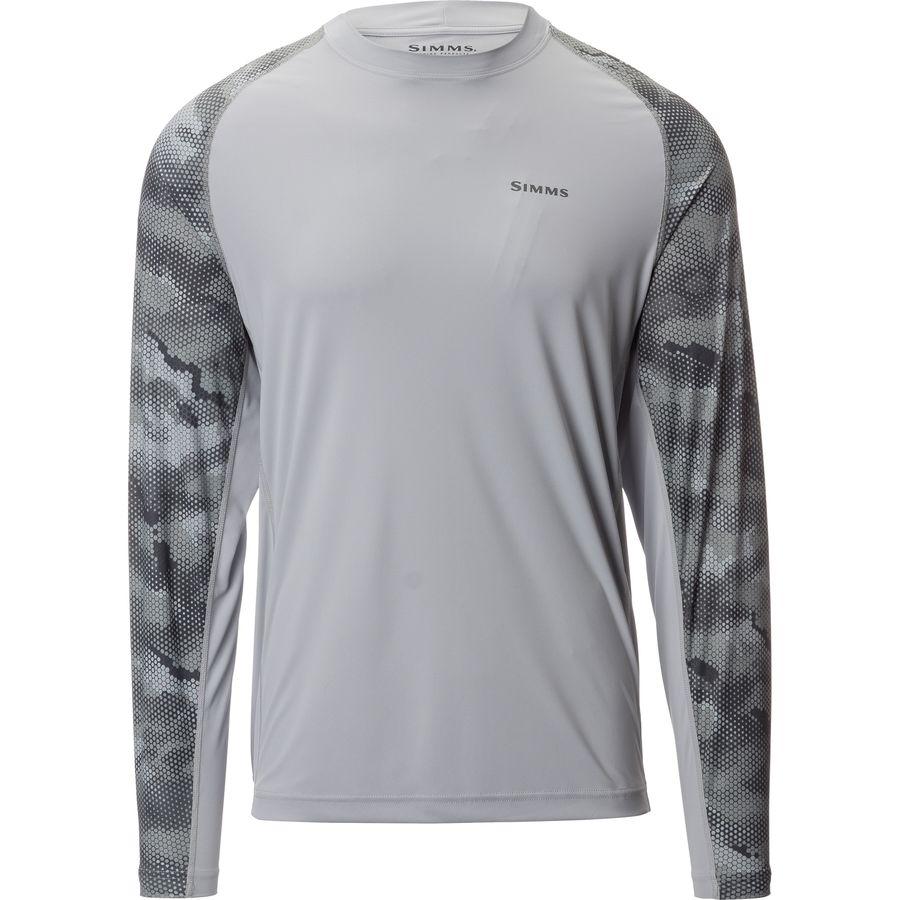Simms Solarflex Long-Sleeve Crew Neck Shirt - Mens