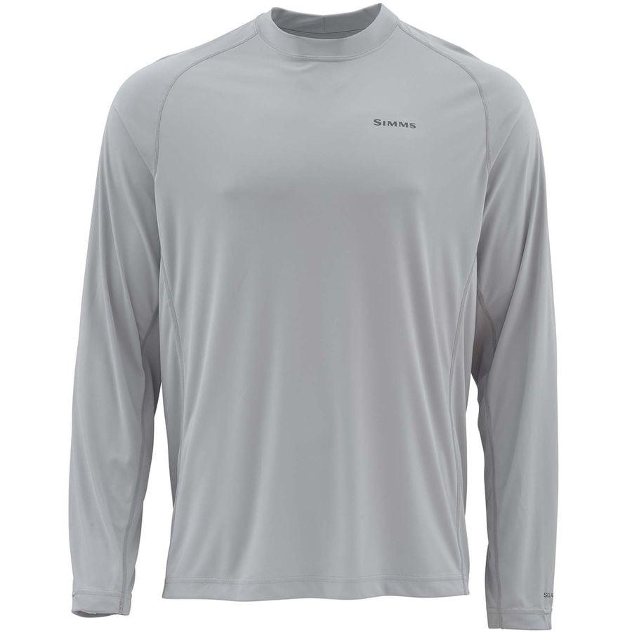 8db12328b Simms SolarFlex Solid Long-Sleeve Crew Shirt - Men's   Steep & Cheap