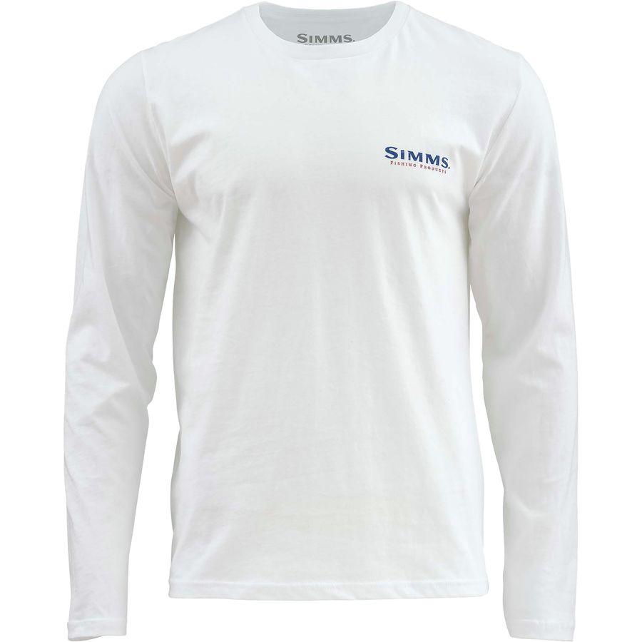 Simms Trout USA Long-Sleeve T-Shirt - Mens