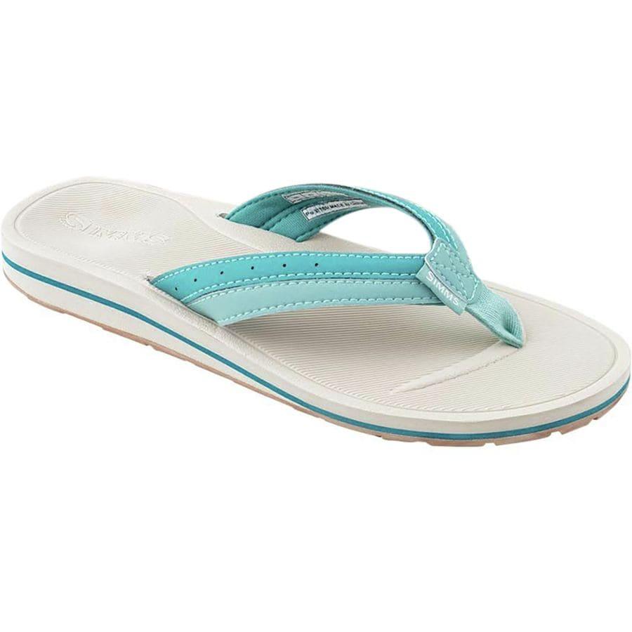 595bc788916d Simms - Drifter Flip Flop - Women s - Aqua