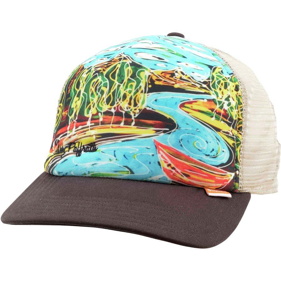 433ca7040 Simms Dripping Trees Artist Foam Trucker Hat