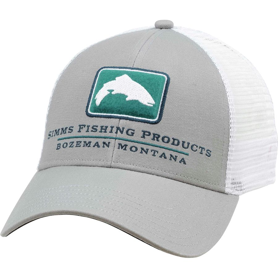 17a4bab24 Simms Trout Icon Trucker Hat