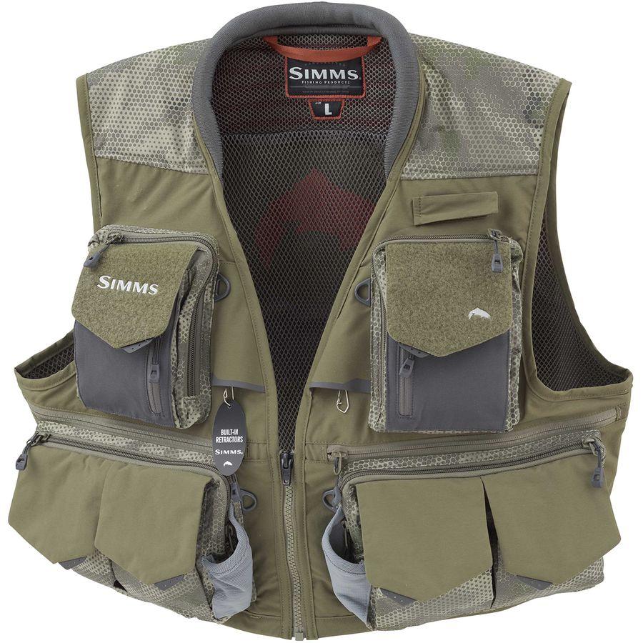 Simms guide vest for Toddler fishing vest