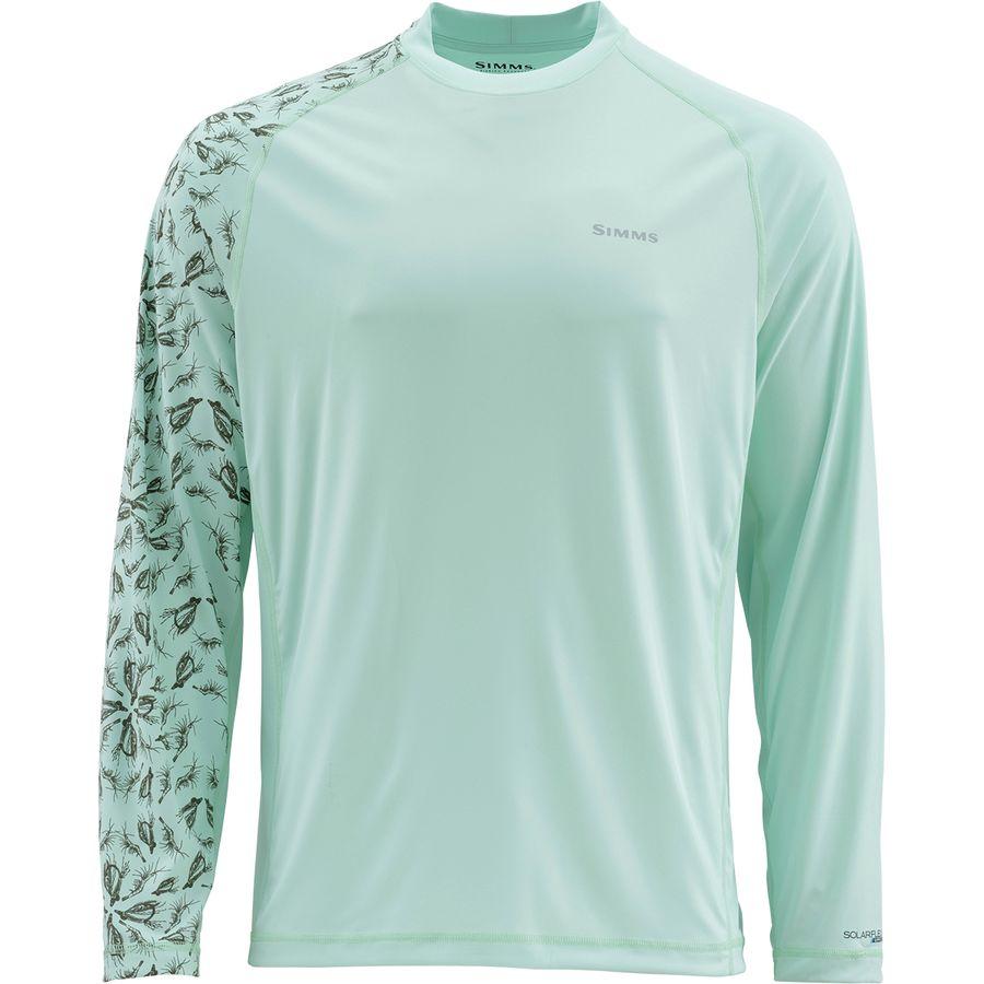 568d8e243 Simms - Solarflex Long-Sleeve Crewneck Artist Series Shirt - Men's -  Bonefish