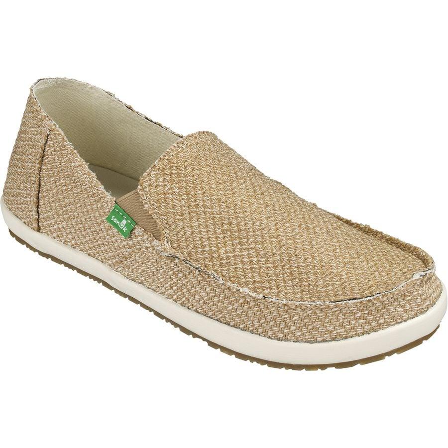 Sanuk Rounder Hobo Hemp Shoe - Mens