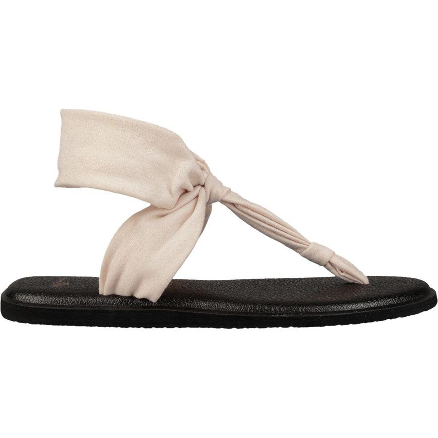 debec08b822d Sanuk - Yoga Sling Ella Metallic Sandal - Women s - Rose Gold