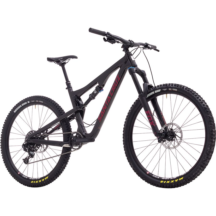 Santa Cruz Bicycles Bronson 2.1 Carbon R Complete Mountain Bike ...