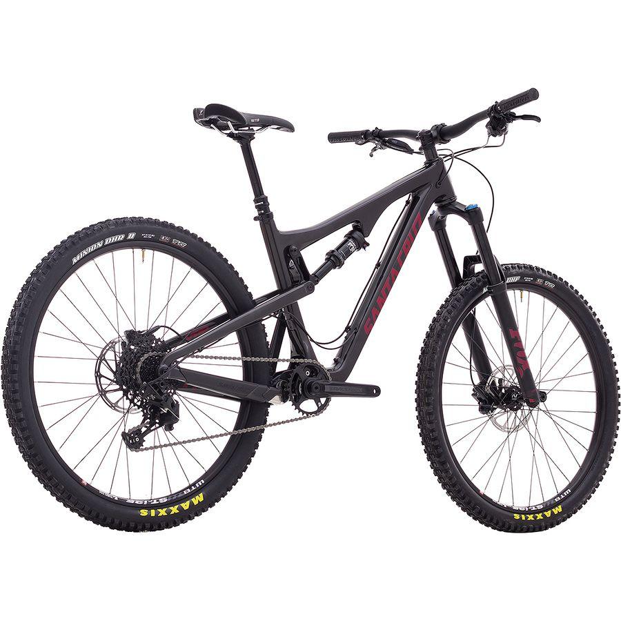Santa Cruz Bicycles Bronson 2.1 Carbon R Complete Mountain Bike ...
